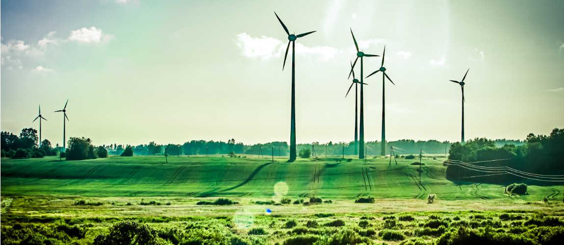 Umwelt Windräder